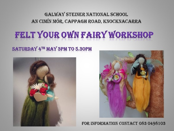 Felt your own fairy workshop